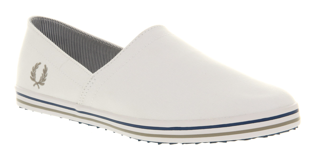 Mens-Fred-Perry-Kingston-Stamp-Down-Wht-cloud-royal-Trainers-Shoes
