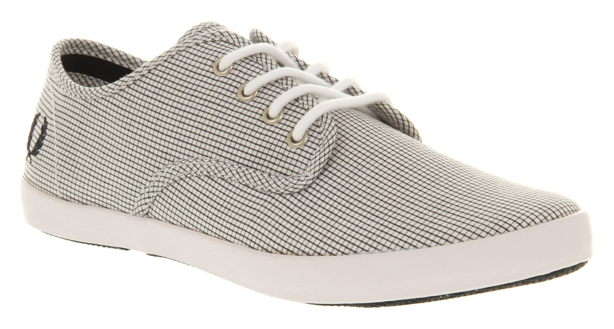 Mens-Fred-Perry-Foxx-Canvas-Pane-Chck-Trainers-Shoes