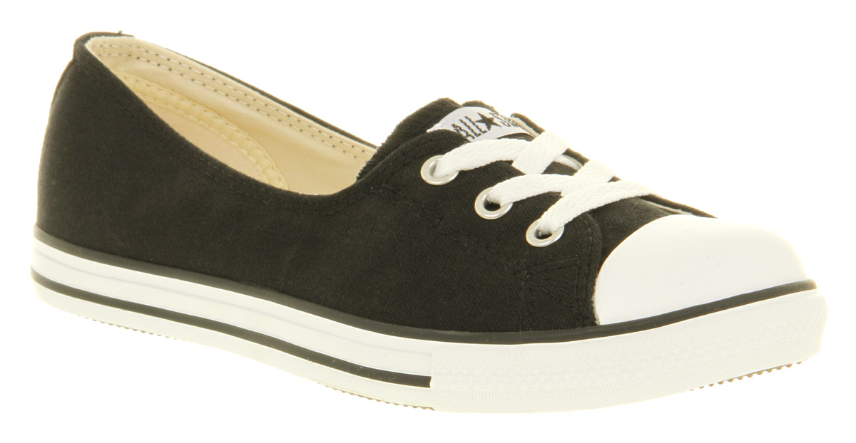 Womens-Converse-Dance-Lace-Black-Excl-Trainers-Shoes
