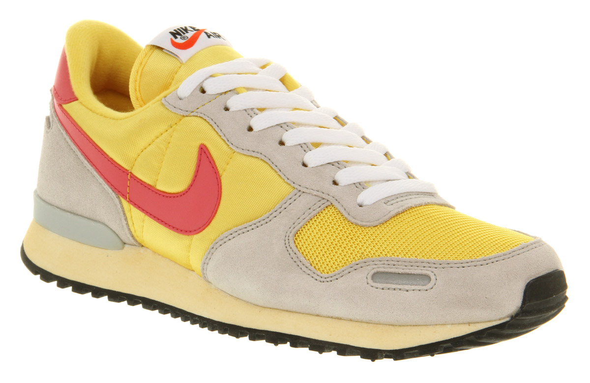 Womens-Nike-Air-Vortex-Vintage-Yell-pnk-gry-Ex-Trainers-Shoes