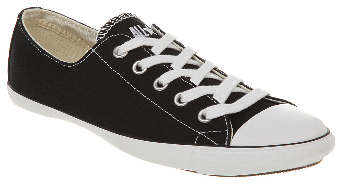 converse black for girls
