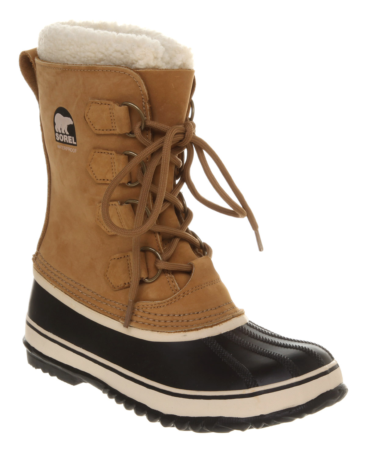 Womens-Sorel-1964-Pac-2-Buff-black-Boots