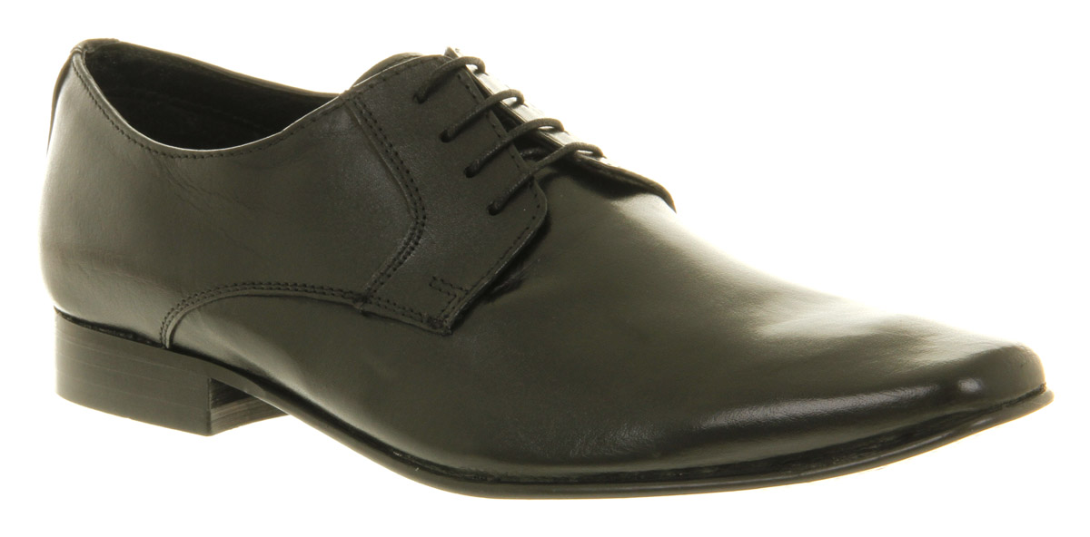 Mens-Office-Moonbow-Lace-Black-Leather-Formal-Shoes