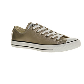 Converse Gold Metallic