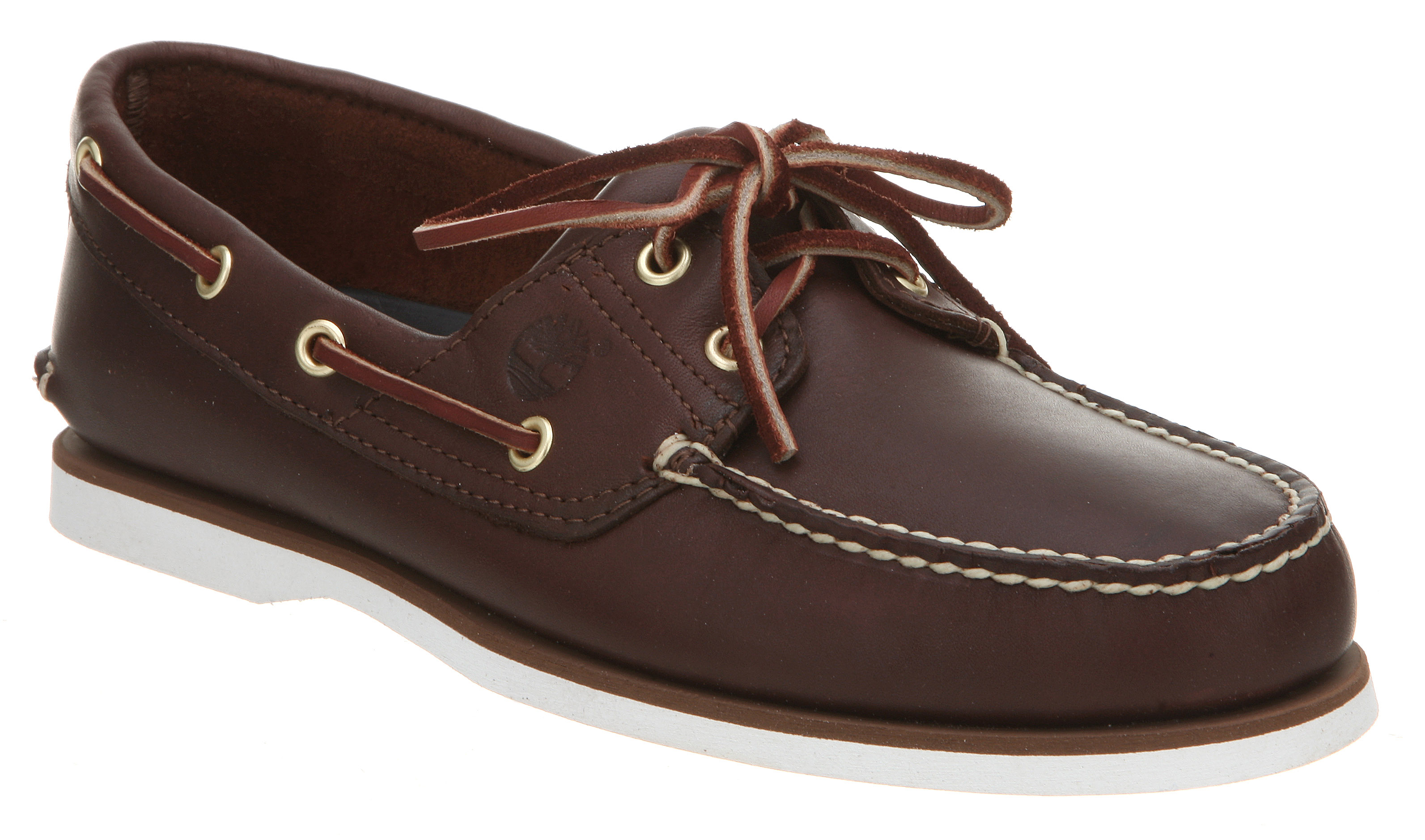 mens timberland new boat shoe brown leather shoes ebay