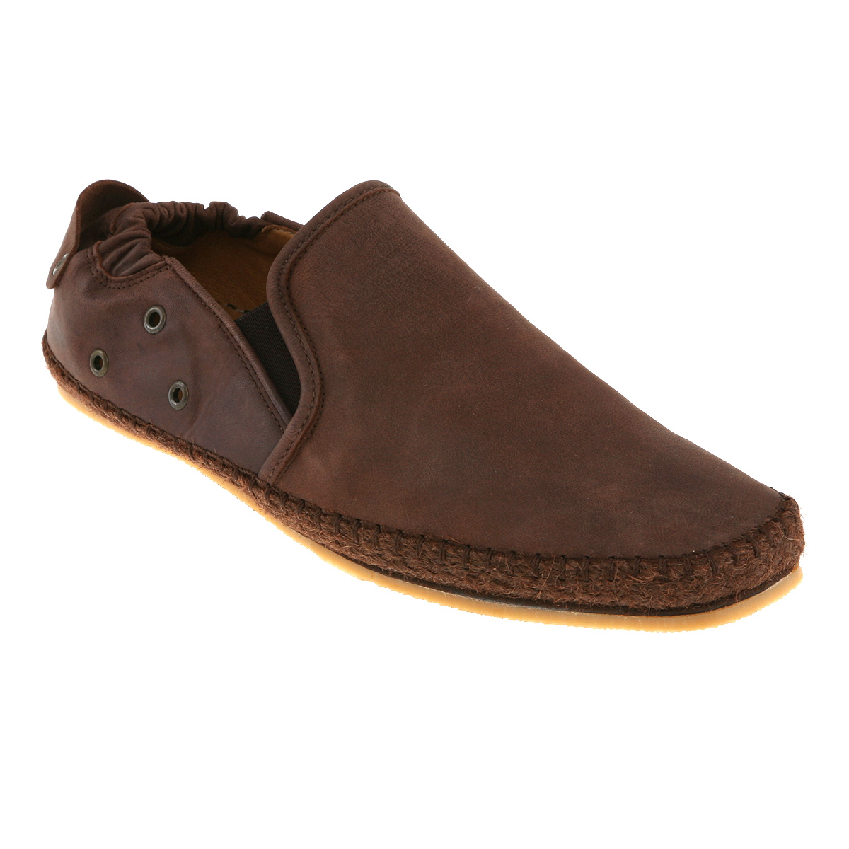 Poste Brown Leather Shoes