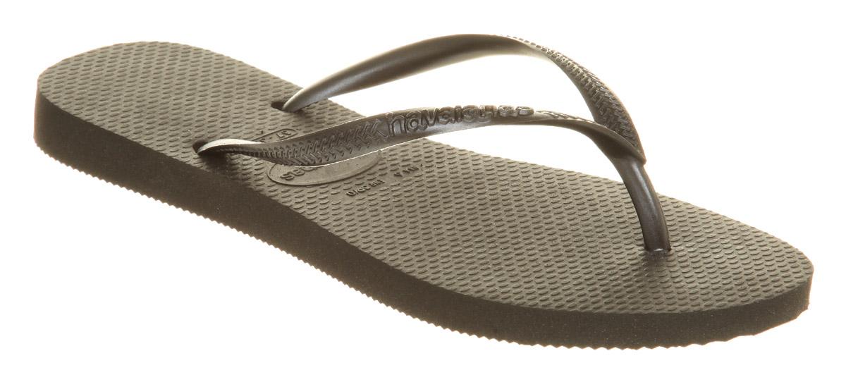 Womens-Havaianas-Slim-Flip-flop-Black-Smu-Sandals