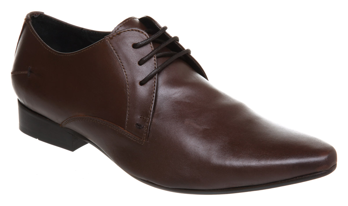 Mens-Office-Mannibago-Point-Lace-Brown-Leather-Shoes
