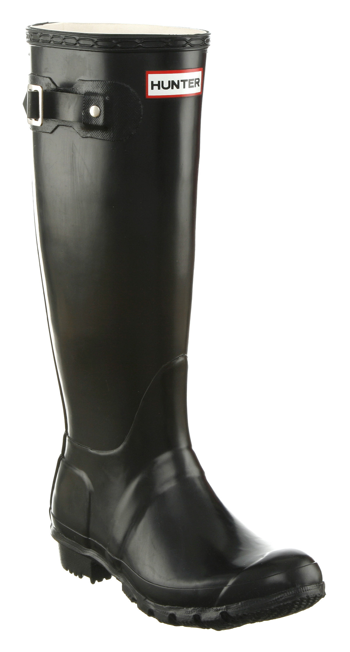 Unique Hunter Purple Original Gloss Womenu0026#39;s Wellington Boot