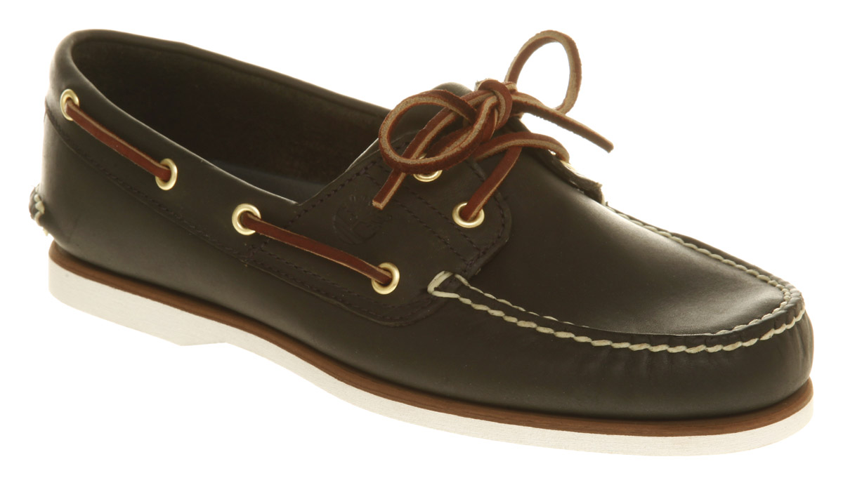 mens navy timberland boat shoes