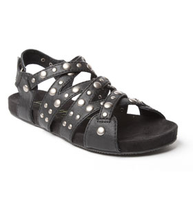 Womens-Blowfish-Stud-Sandal-Black-B-calf-Pu