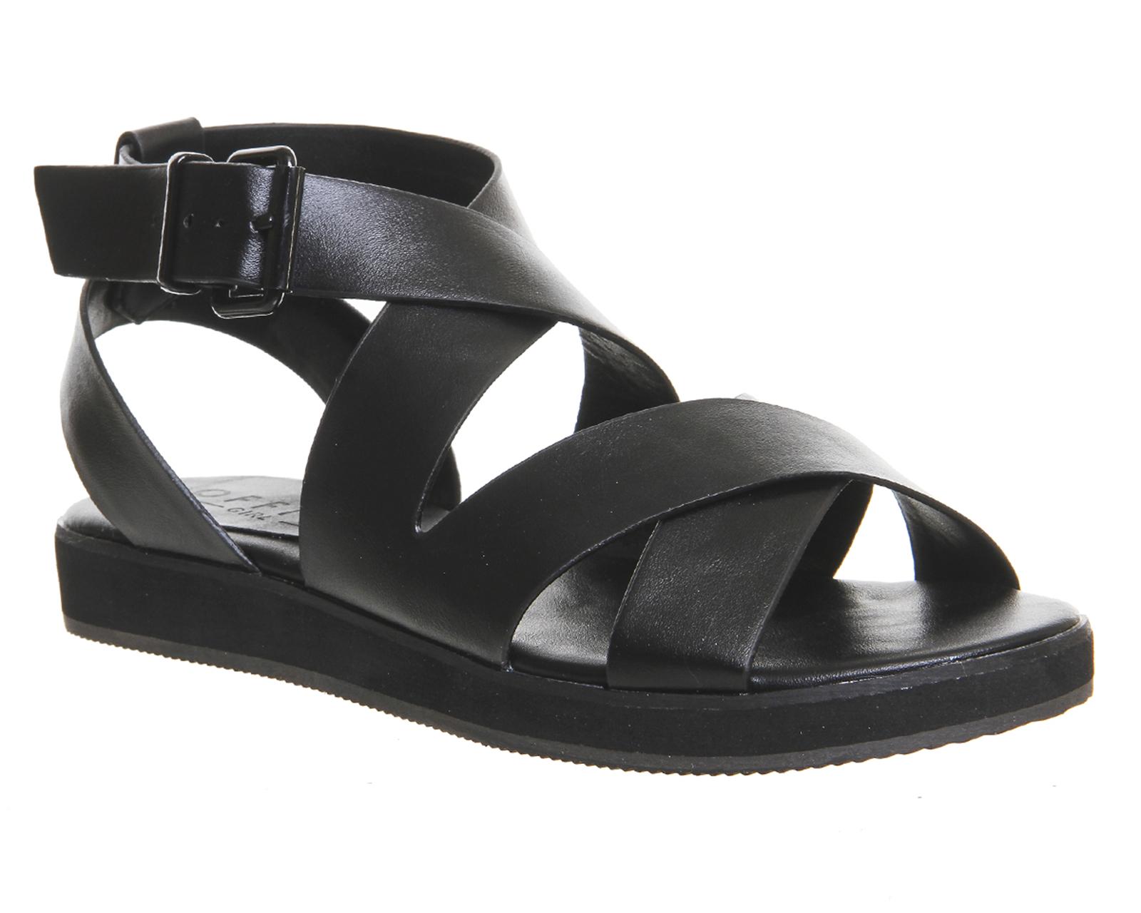 Sandals in black - Womens Office Bounce Sporty Sandal Black Sandals