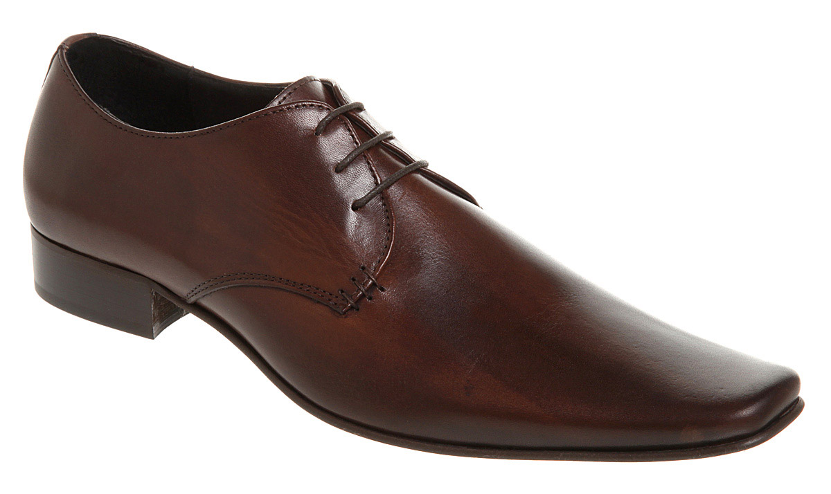 Mens-Office-Exit-Chisel-Gibson-Brown-Leather-Formal-Shoes