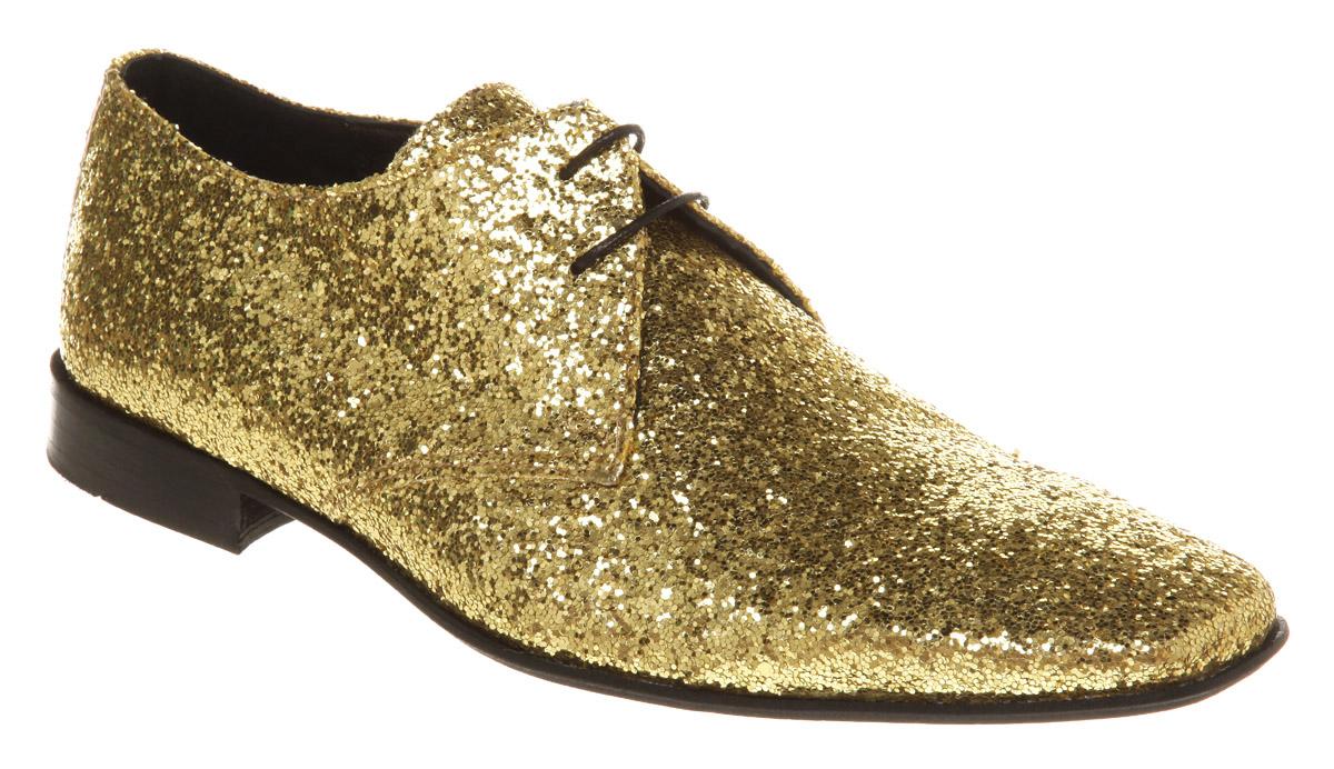 Black Sparkly Dress Shoes Men