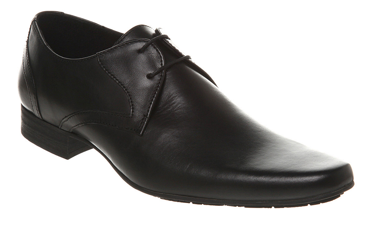 Mens-H-By-Hudson-Livingston-Lace-Gib-Black-Leather-Formal-Shoes