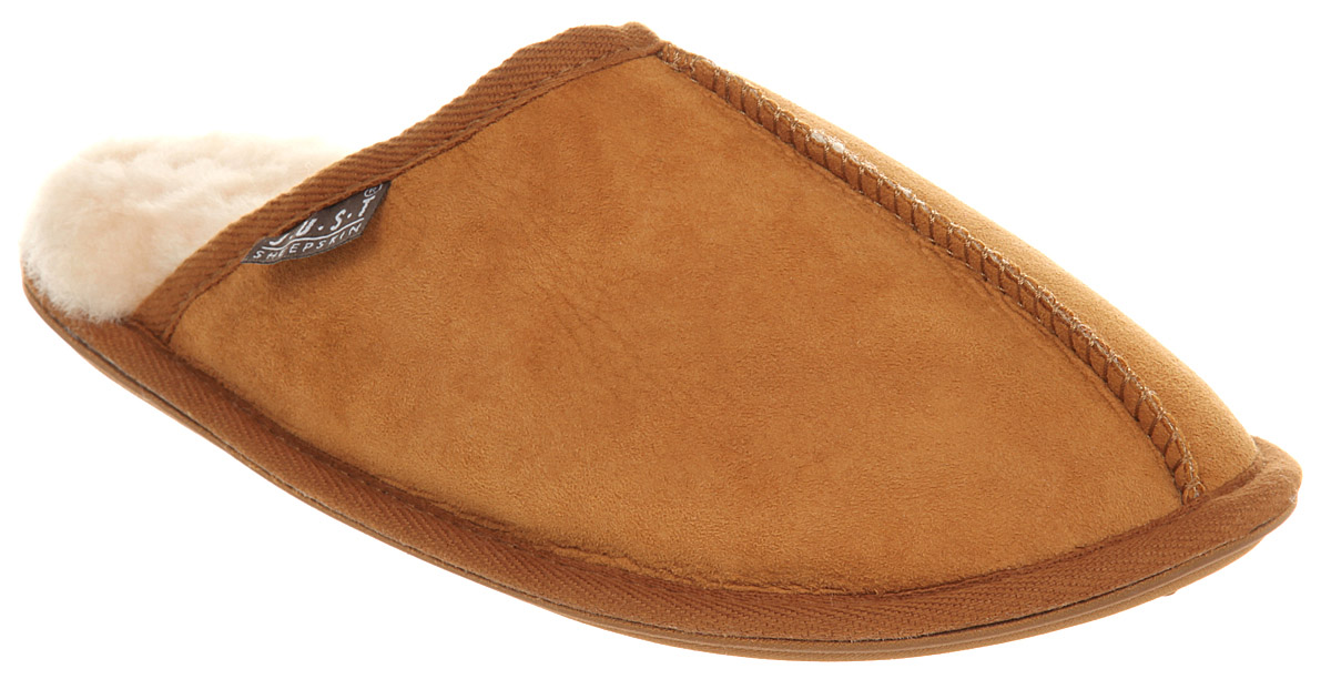 Mens-Just-Sheepskin-Donmar-Sole-Chestnut-Suede-Shoes