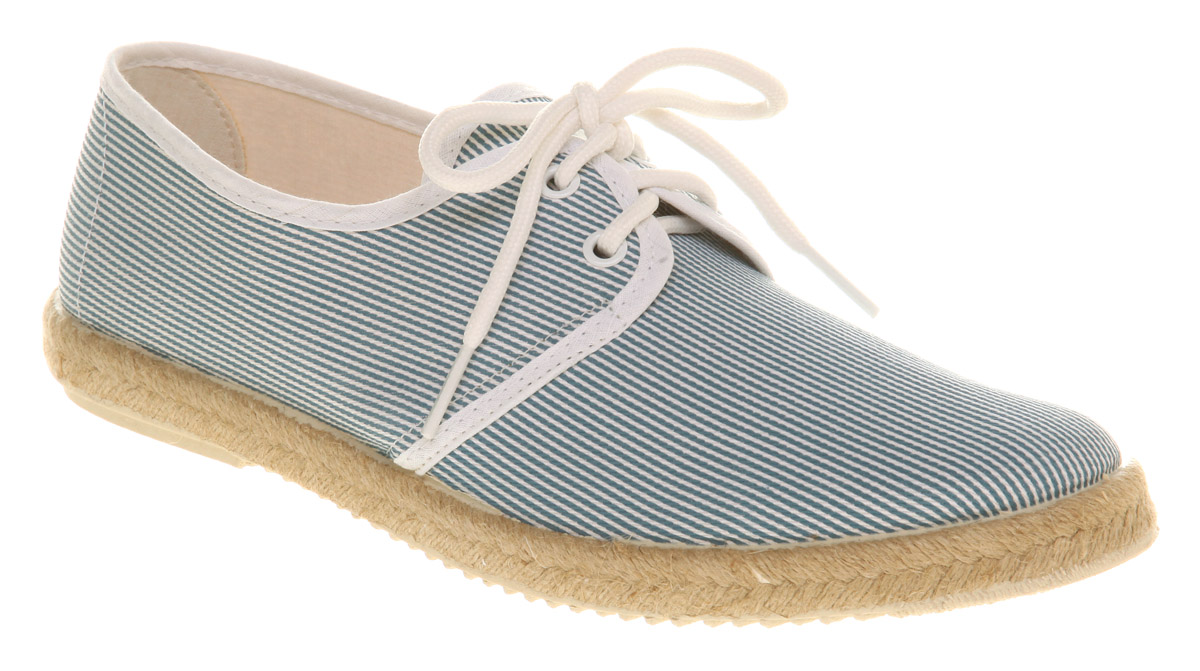 Mens-Ask-The-Missus-Starboard-Lace-Stripe-Canvas-Casual-Shoes