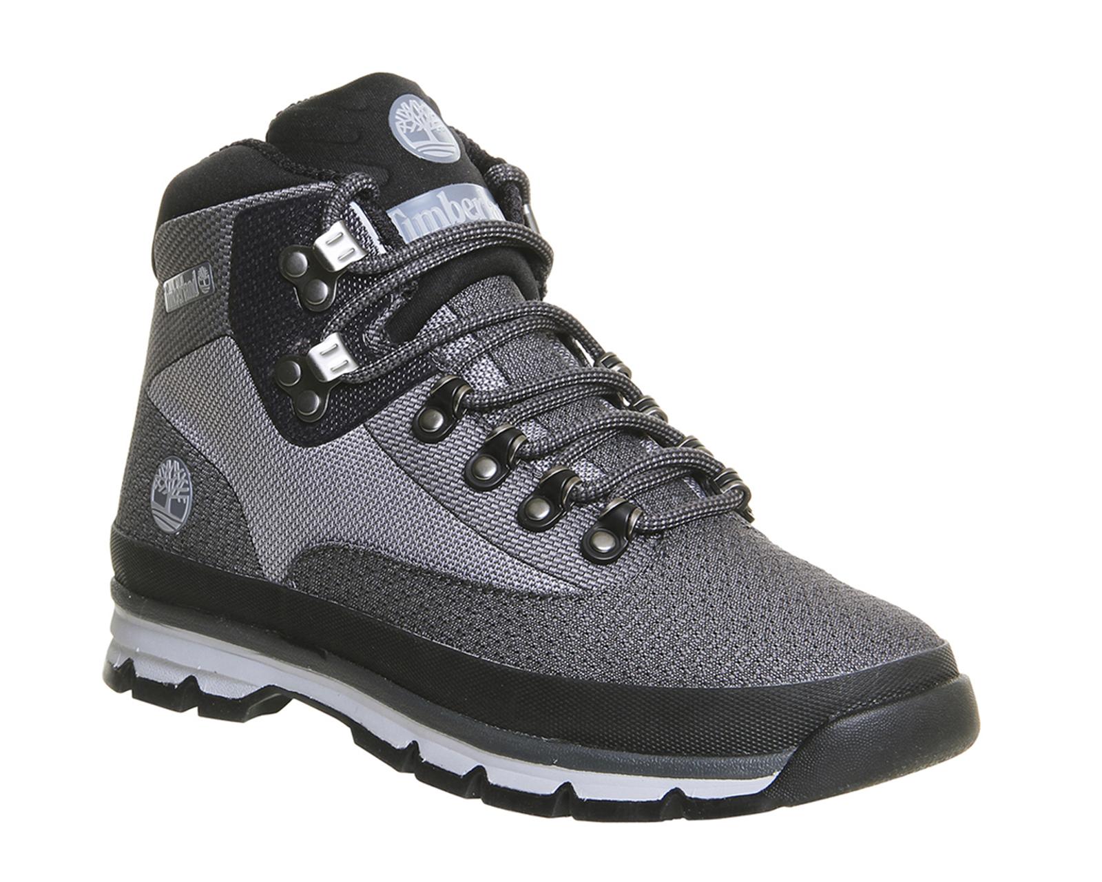 Mens-Timberland-Euro-Hiker-Jacquard-GREY-Boots