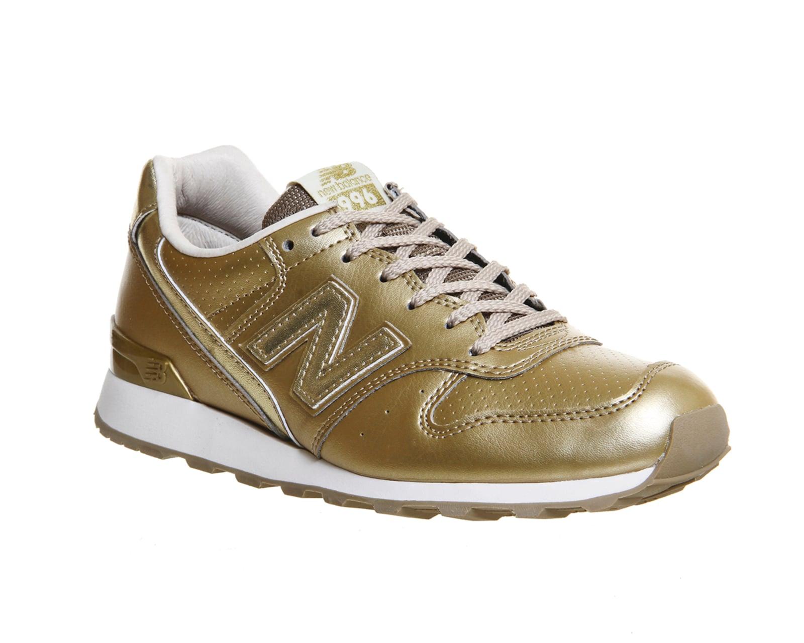 new balance 996 mujer gold