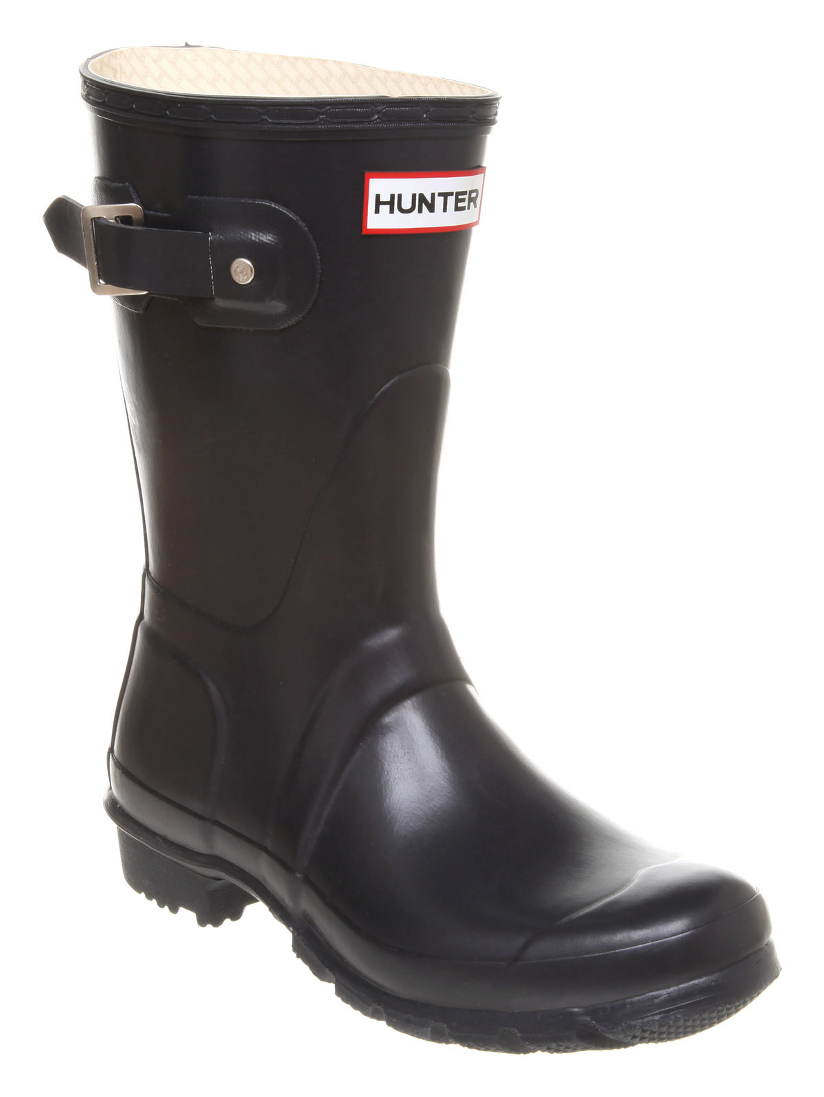 Womens-Hunter-Short-Classic-Welly-Navy-Boots