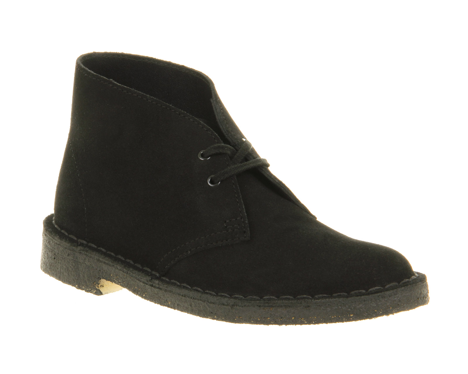 womens clarks originals desert boot black suede boots ebay