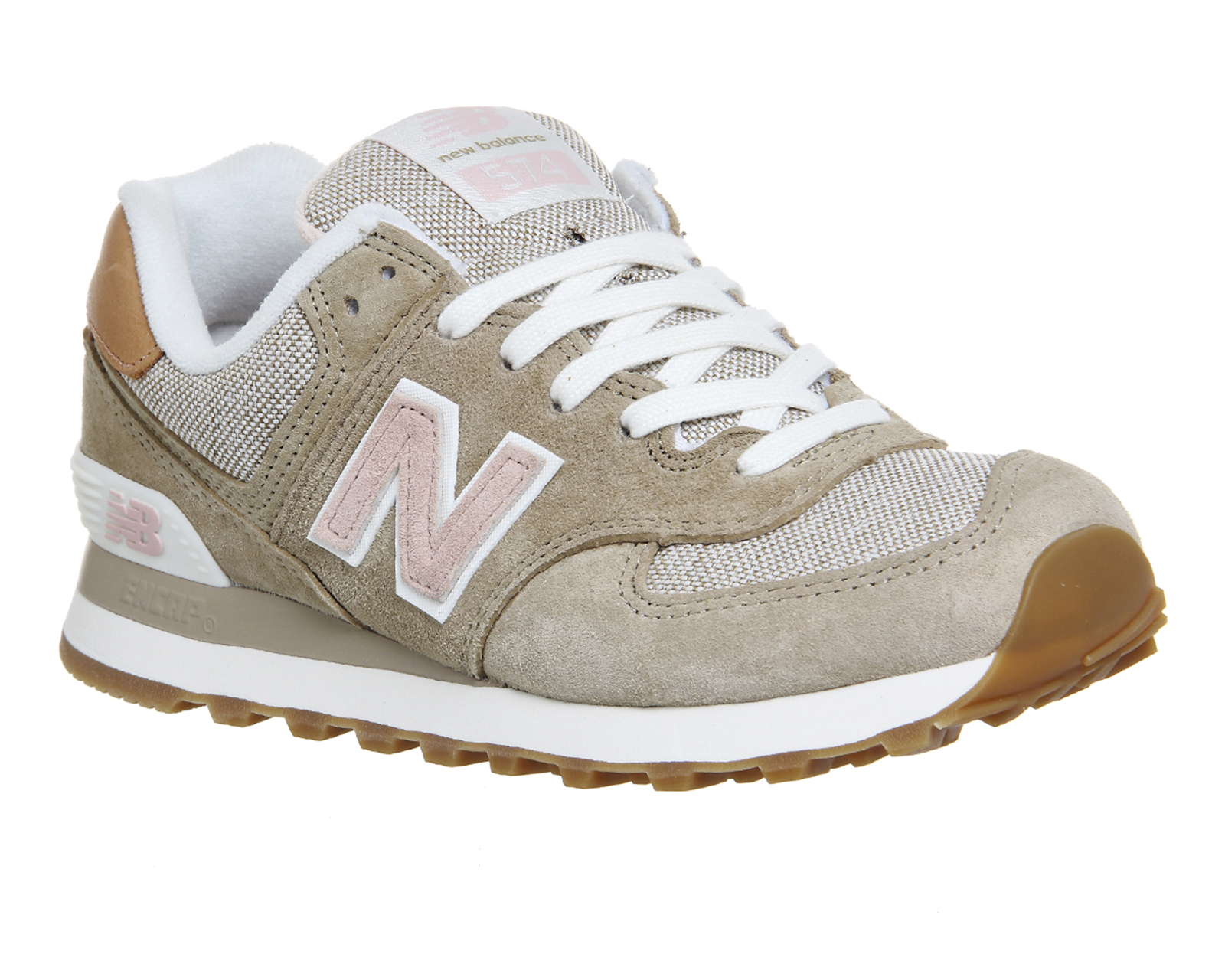 new balance 574 beige gold