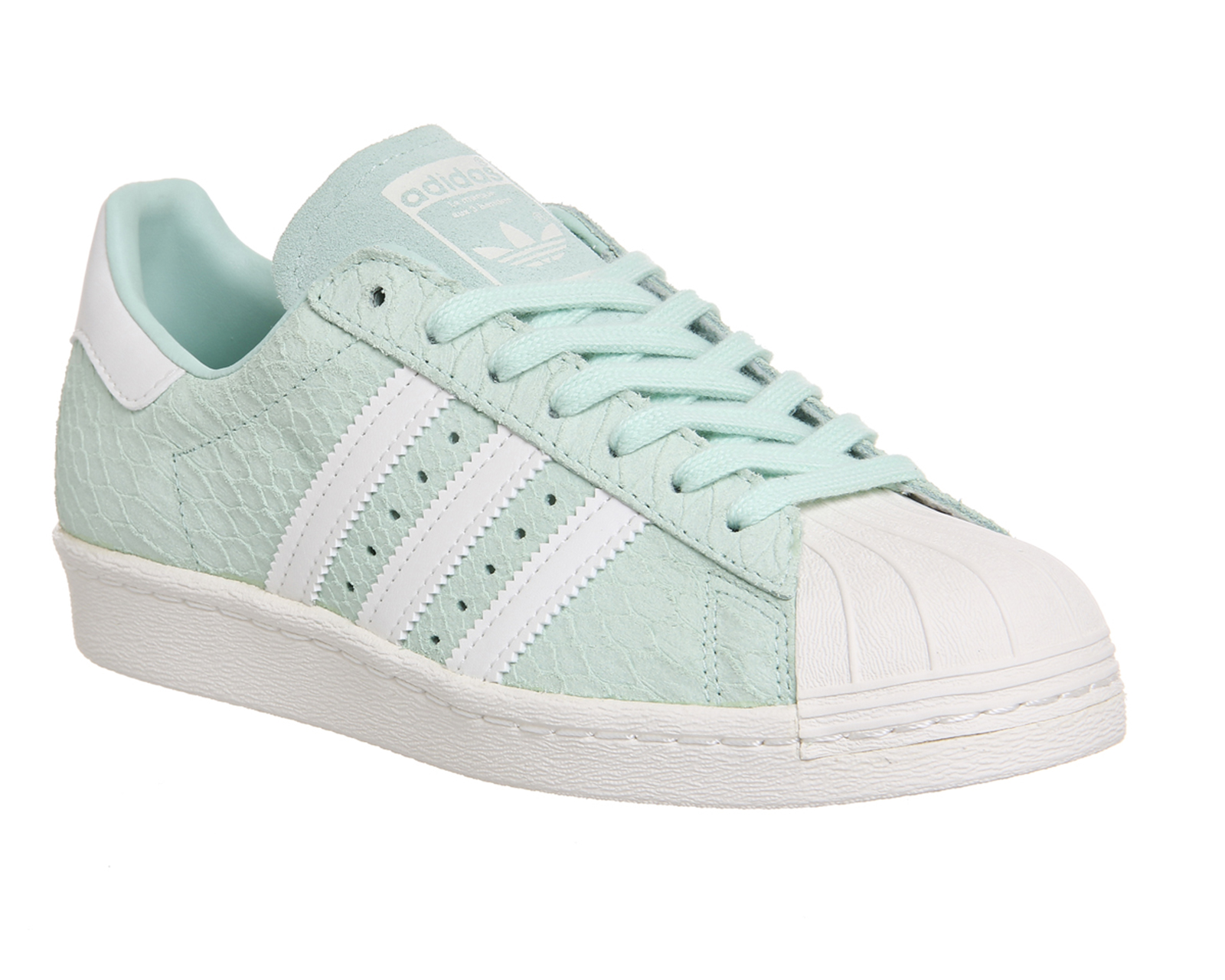 Adidas Superstar Blanco Y Verde