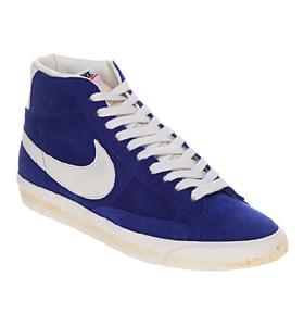 Mens-Nike-Blazer-Hi-Suede-Vntage-Old-Royal-sail-Trainers-Shoes