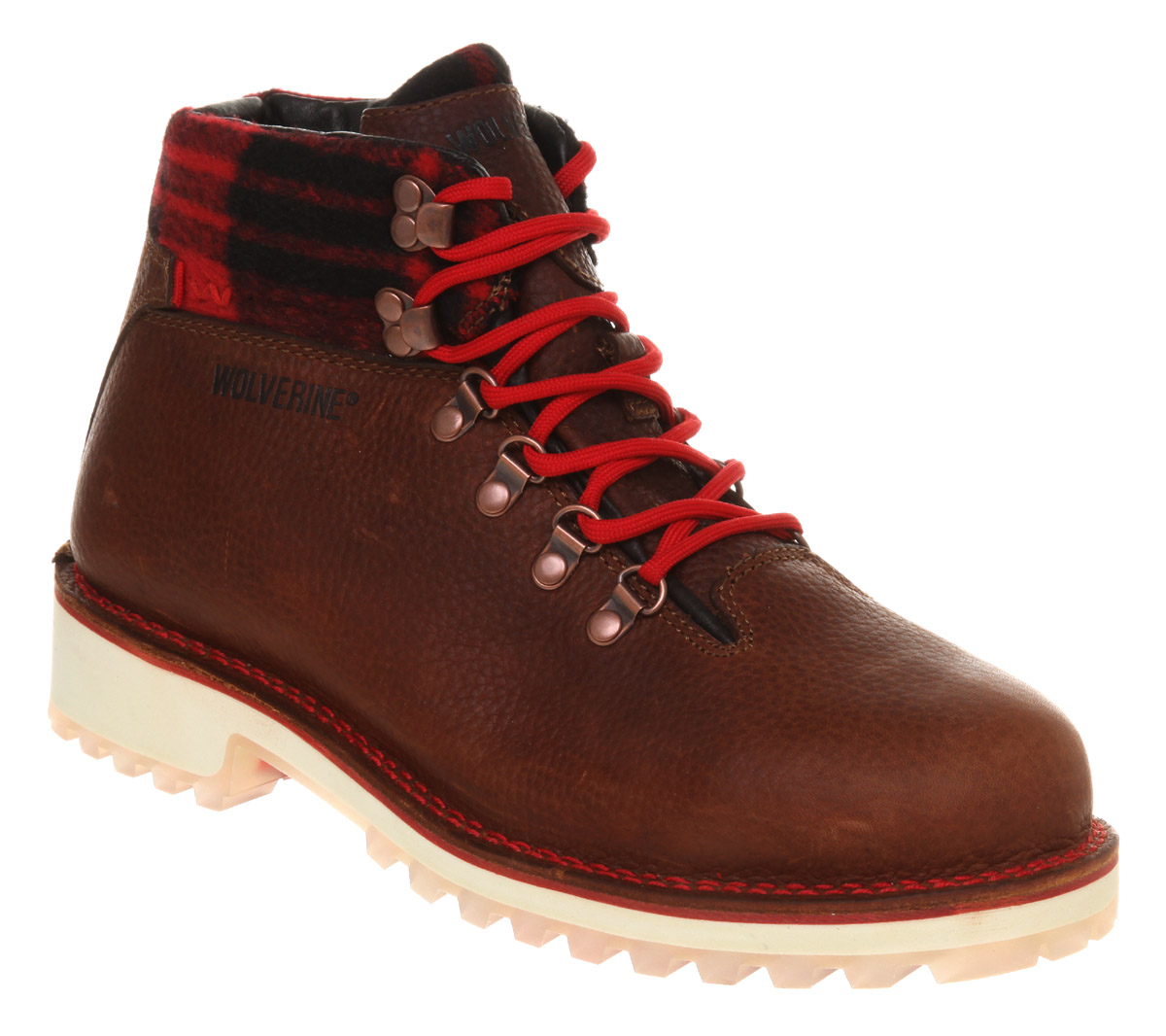 Mens-Wolverine-Tyrol-Hiker-Boot-Brown-Leather-Boots