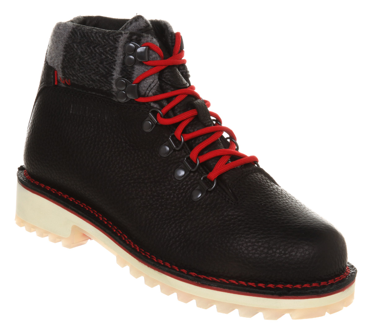 Mens-Wolverine-Tyrol-Hiker-Boot-Black-Leather-Boots