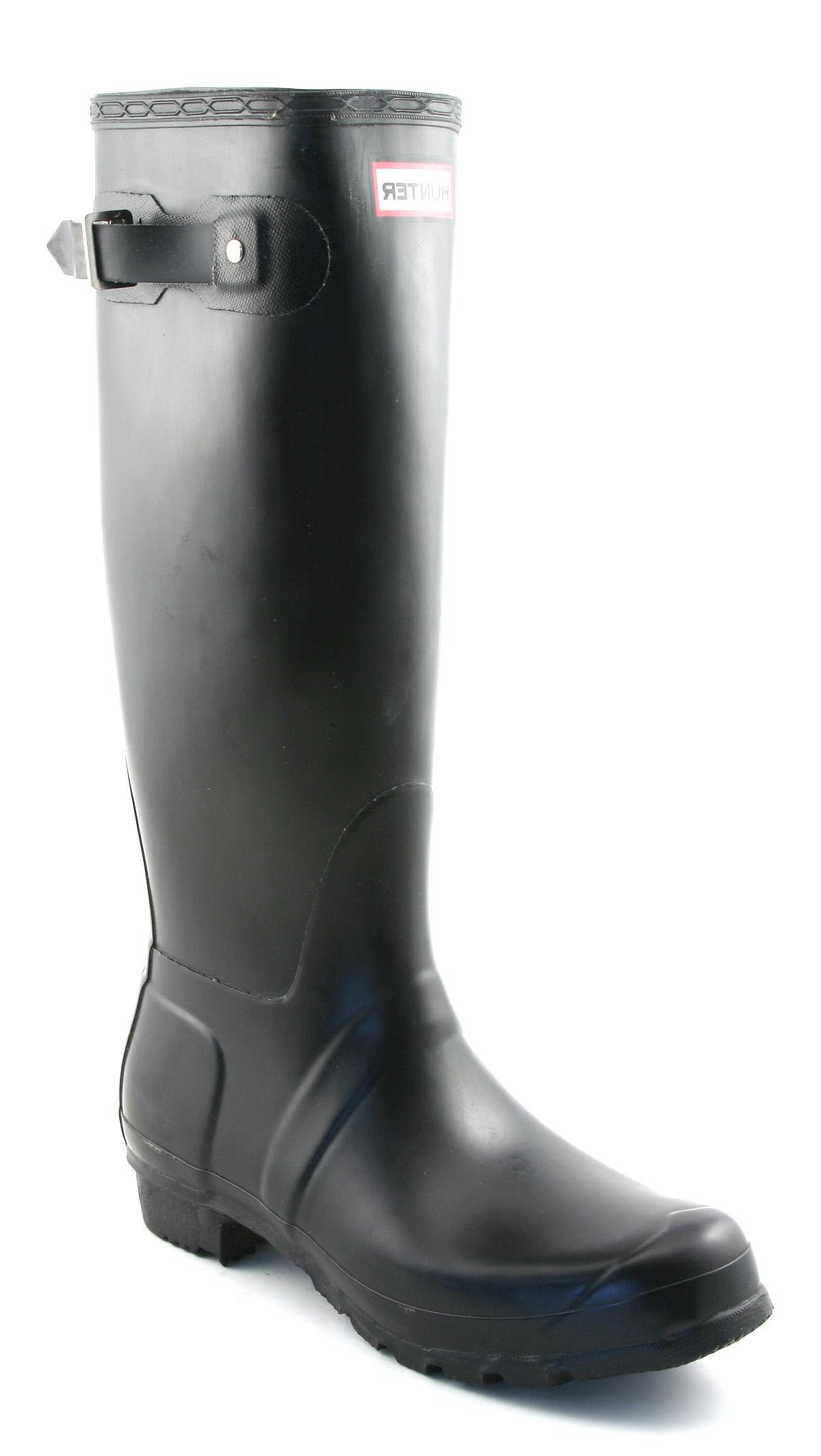 mens original welly black rubber boots ebay