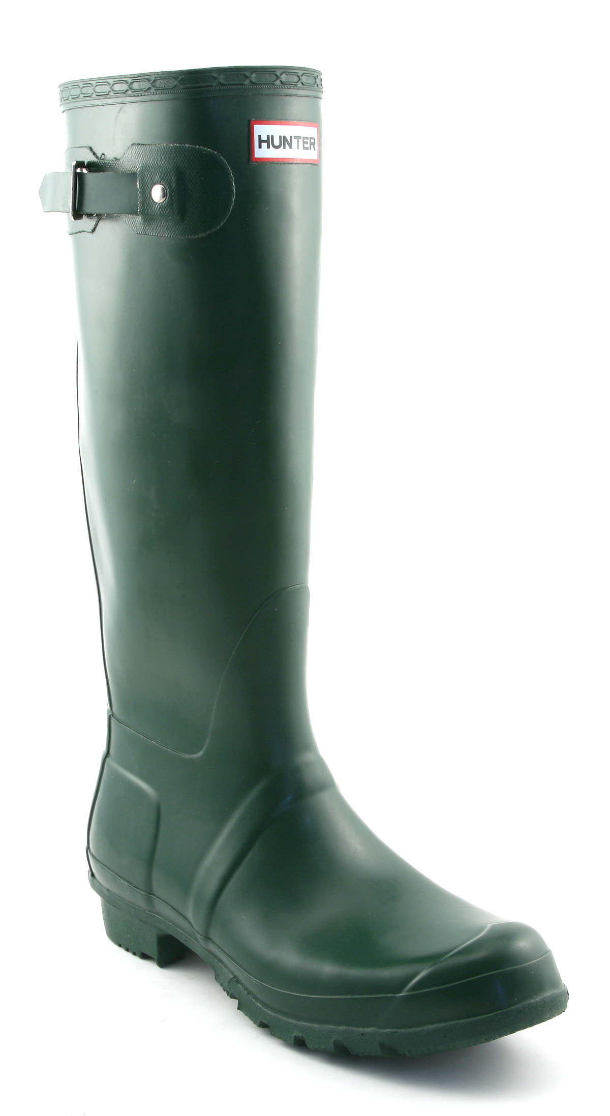 Mens Hunter Original Welly Green Rubber Boots | eBay