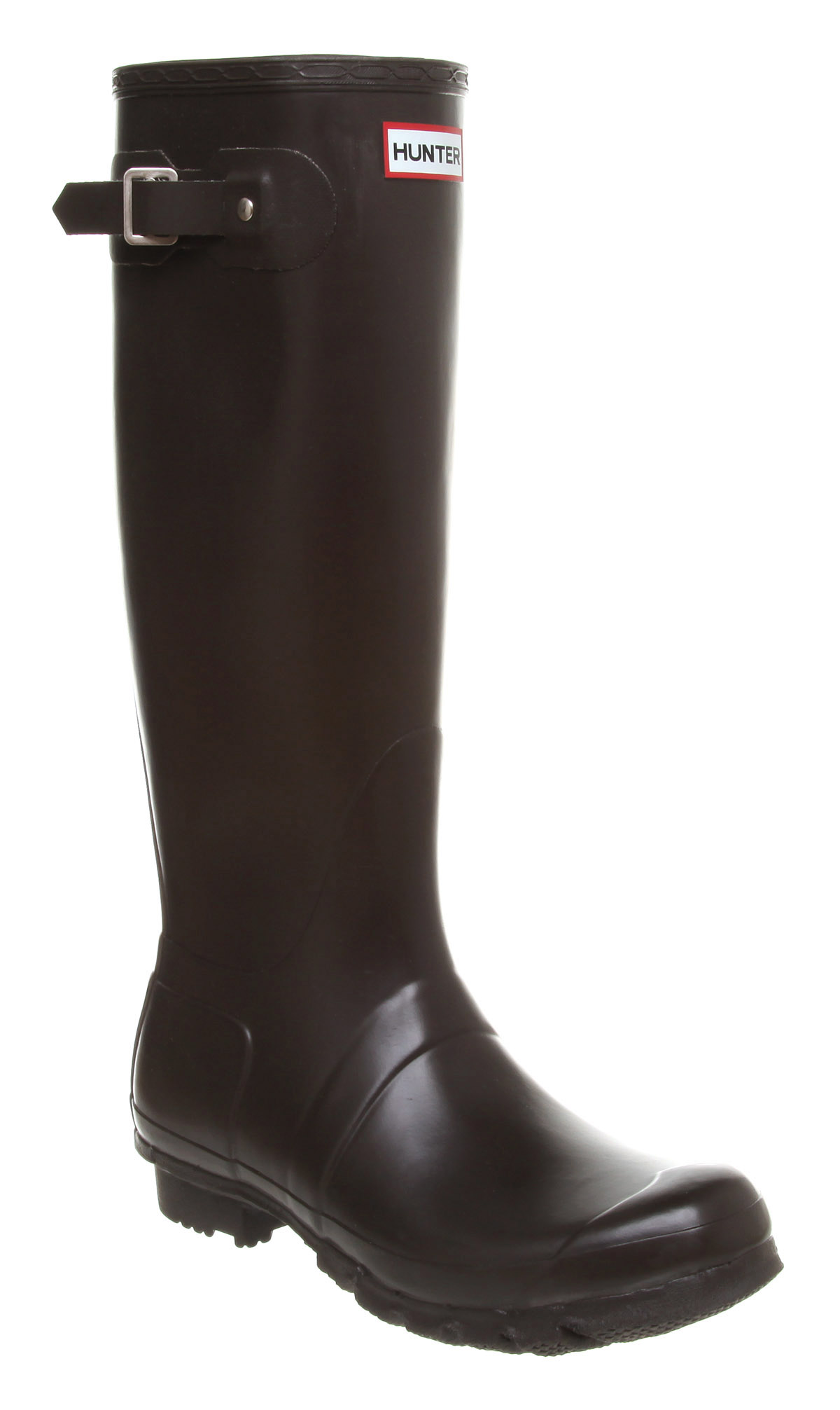 Mens Hunter Original Welly Choc Rubber Boots | eBay