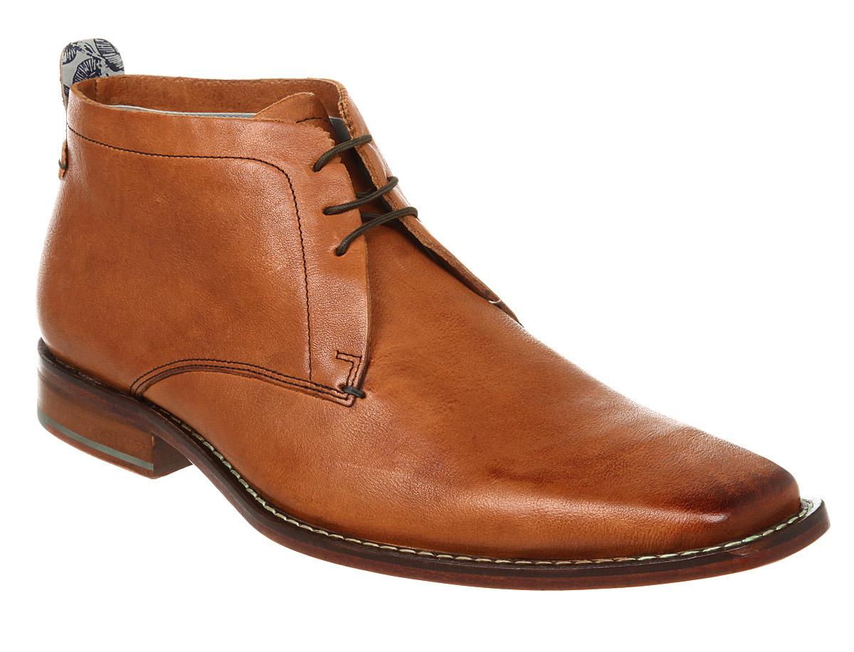 Mens Ted Baker Ashcroft Chukka Boot Tan Wash Lthr Boots | eBay