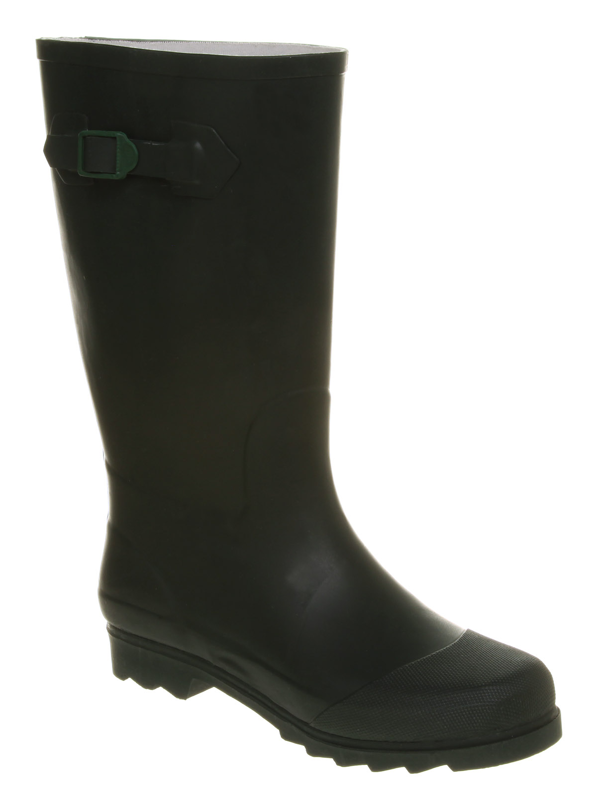 Mens-Office-Judes-Welly-Green-Rubber-Boots