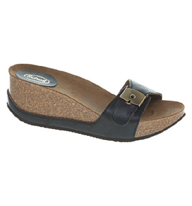 Womens-Scholl-Musal-Black-Leather-Sandals