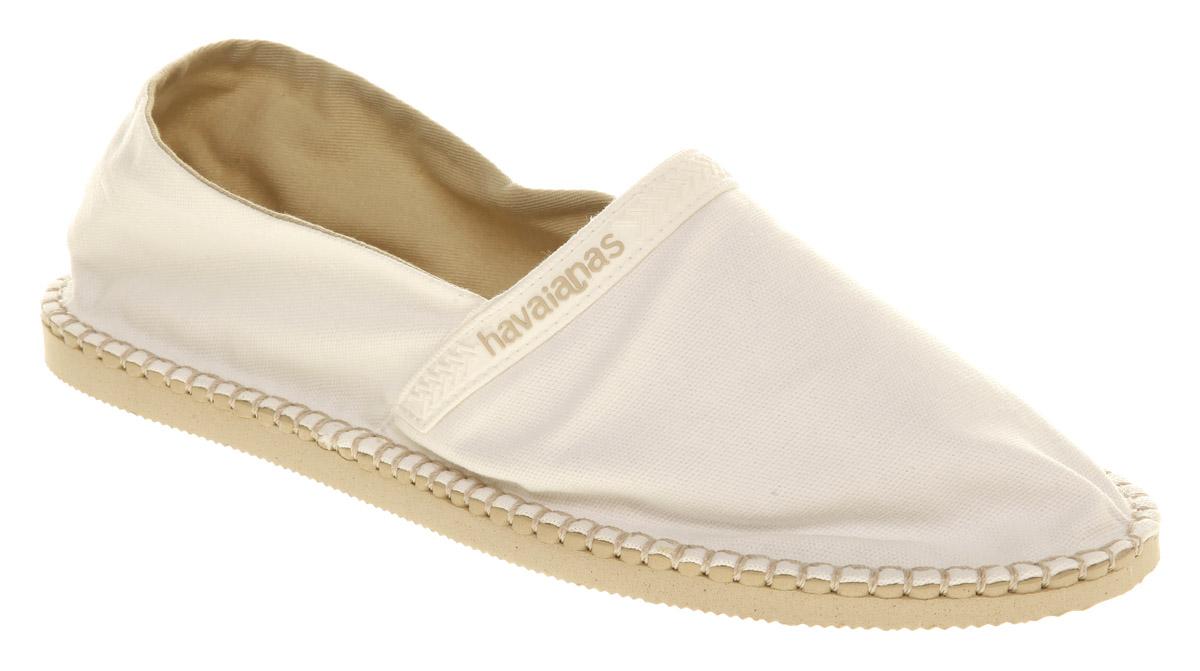 Mens-Havaianas-Havaianas-Espadrille-Ss10-Wht-bge-Canvas-Casual-Shoes