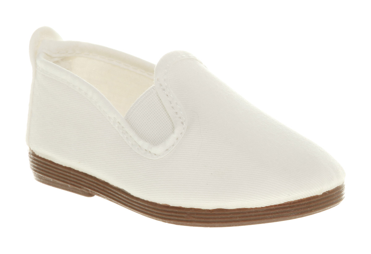 Kids-Flossy-Flossy-Plimsole-White-Kids
