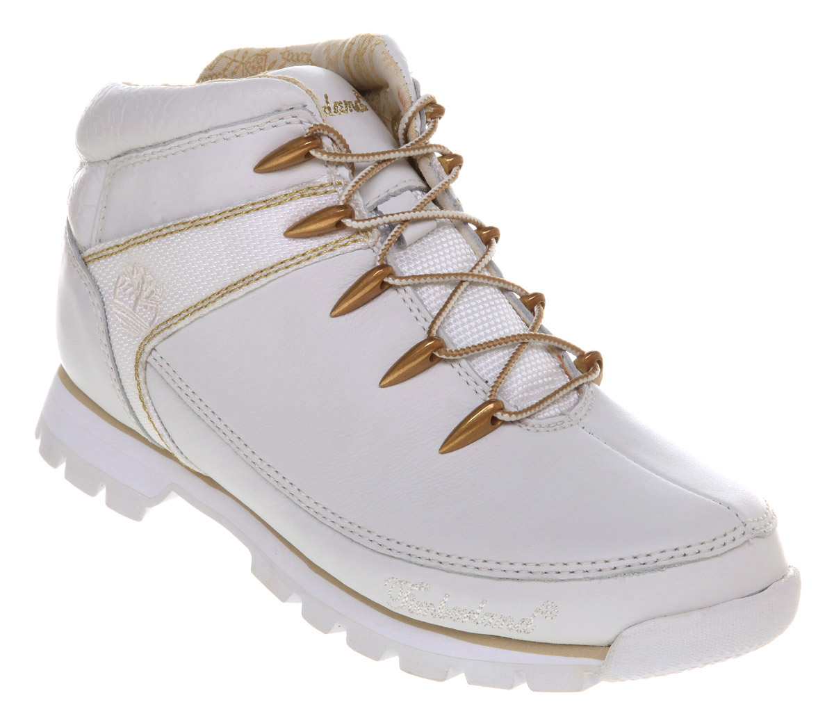 mens timberland eurosprint white leather boots ebay