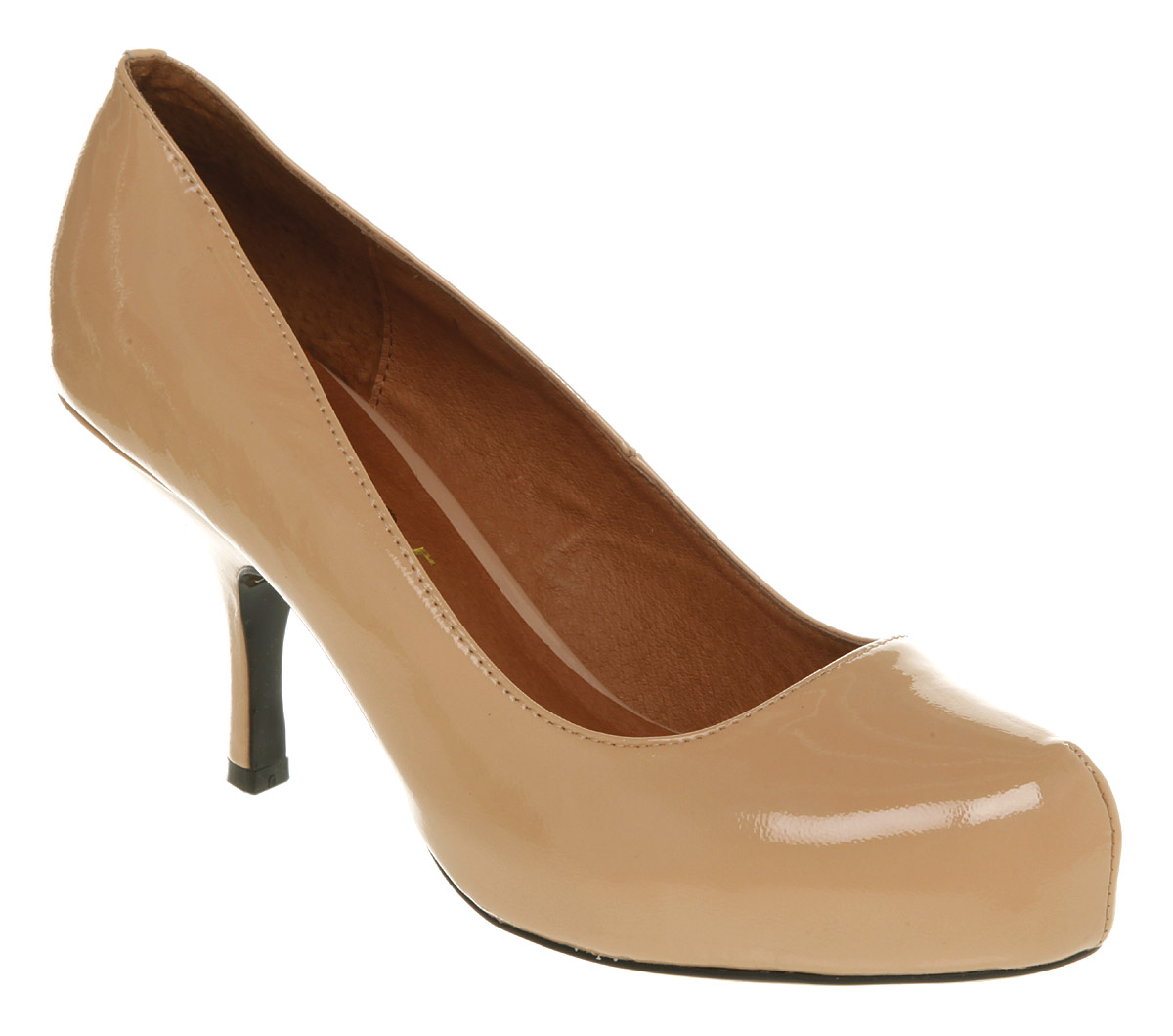 Womens-Office-Dorothys-Friend-Nude-Patent-Heels