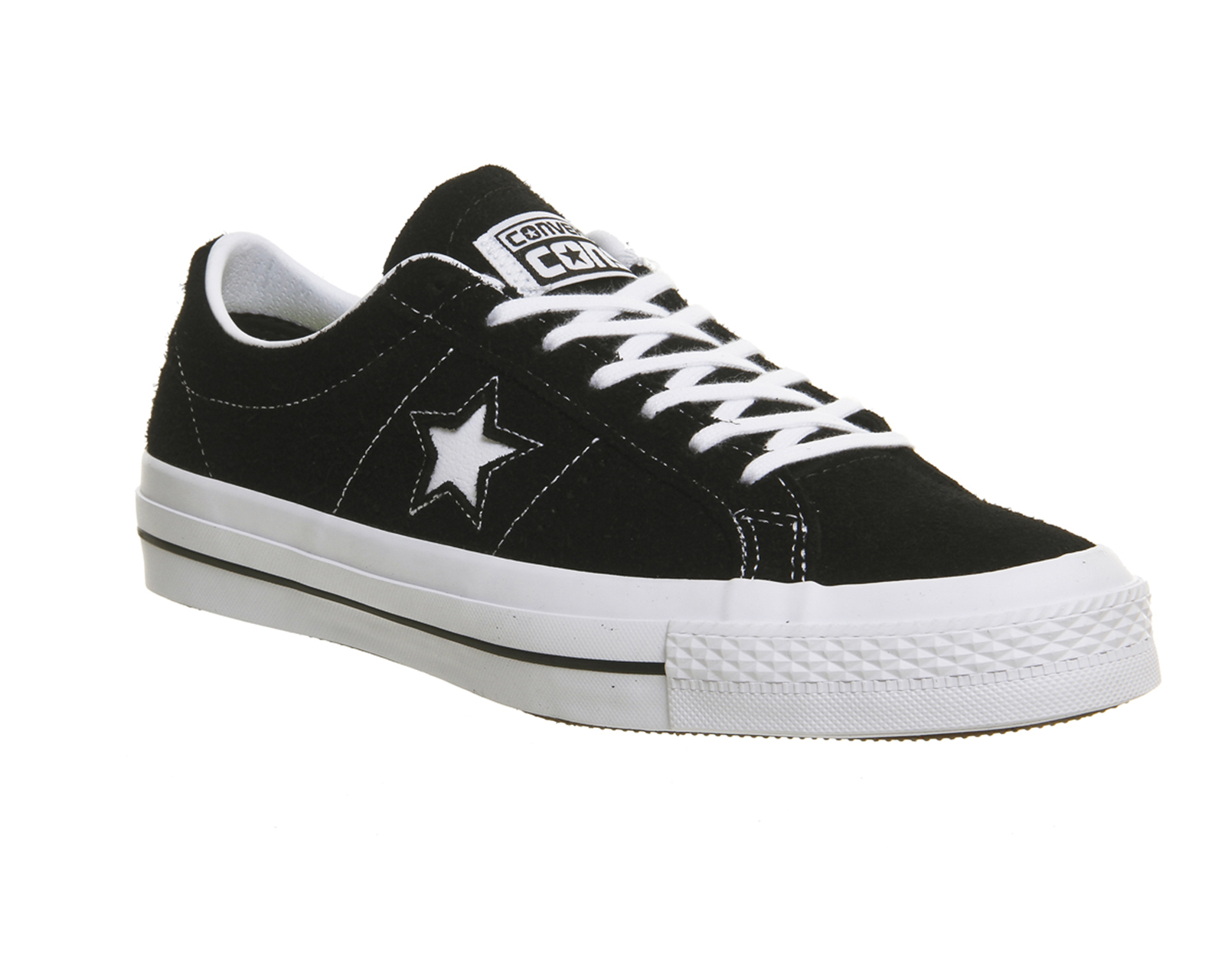 One Star Ox Suede Sneakers - BlackConverse OZtio5
