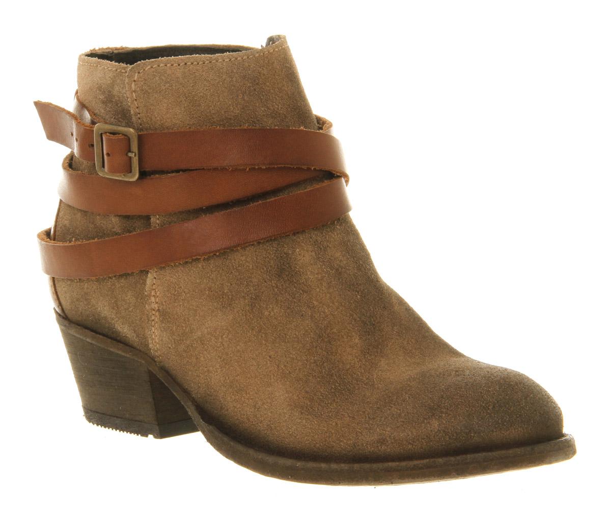Womens-Hudson-Horrigan-Beige-Suede-Smu-Boots