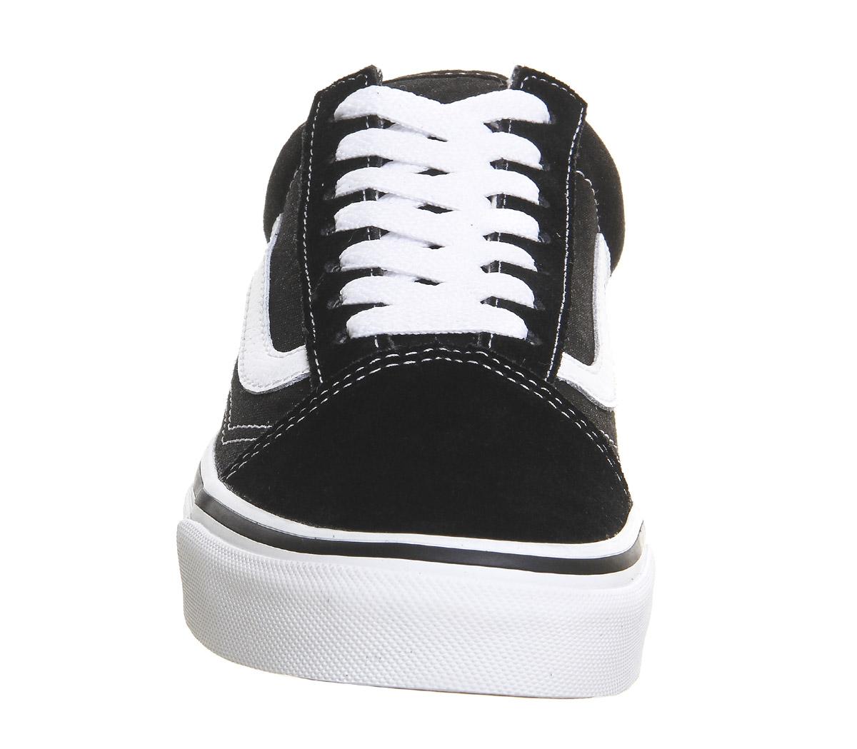 7c888be96 Para-Hombre-Vans-Old-Skool-Negro-Zapatillas-Zapatos miniatura