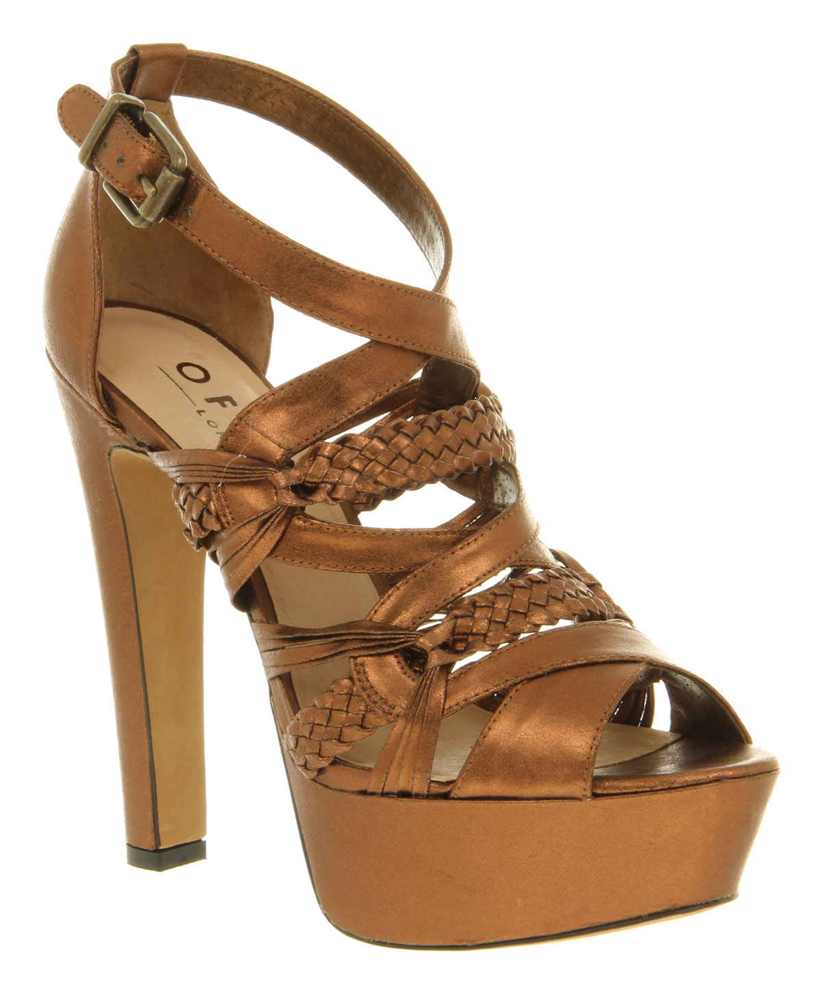 Womens-Office-London-Kindred-Spirit-Bronze-Synth-Heels