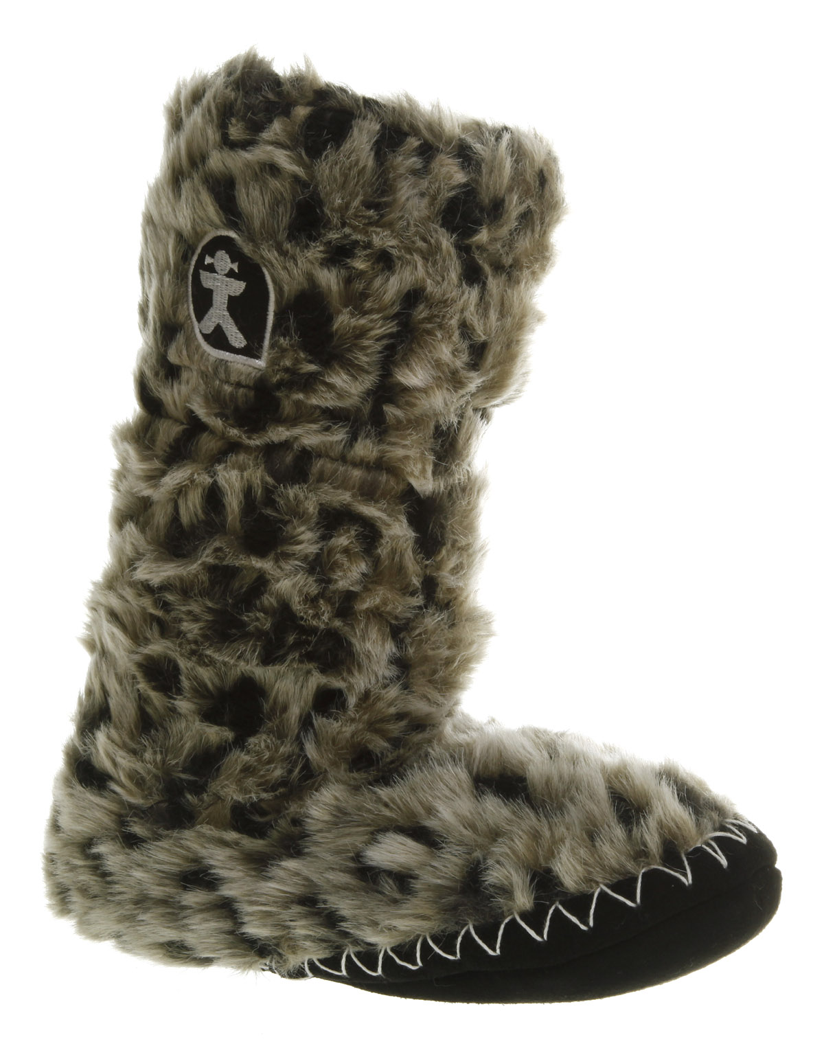 Image Is Loading Womens Bedroom Athletics Sienna Tall Slipper Boot Arctic