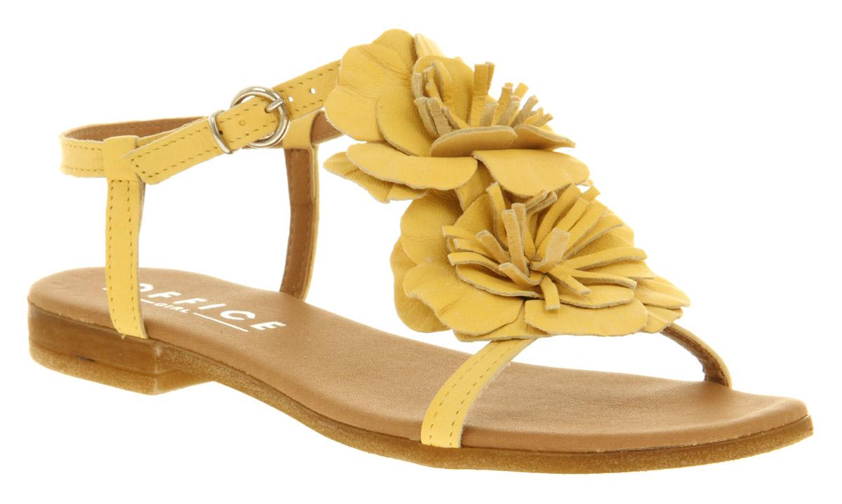 Womens-Office-Girl-Narcissus-Sandal-Lemon-Yellow-Sandals