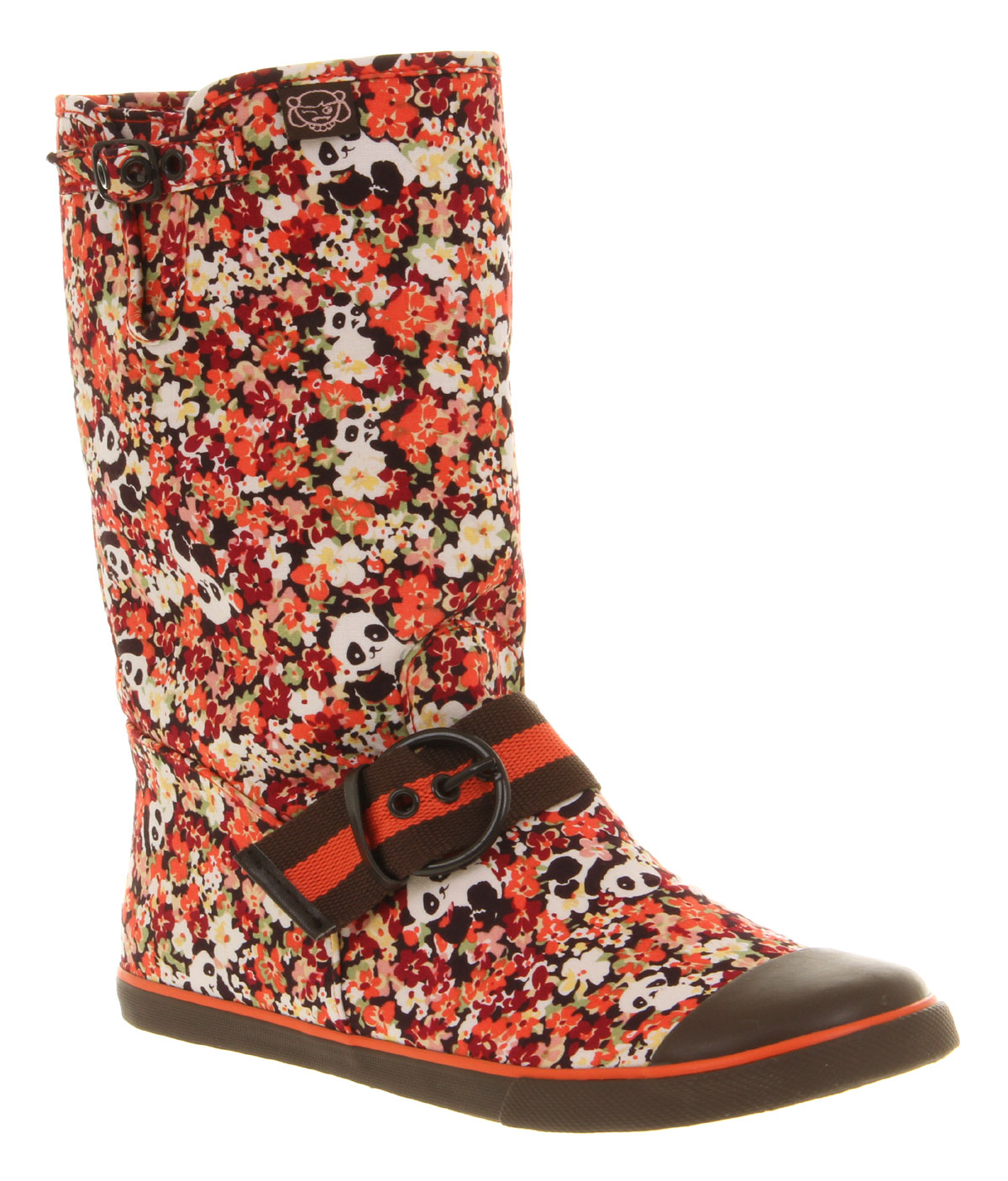 Womens-Sugar-Graphic-Boot-Panda-Print-Boots