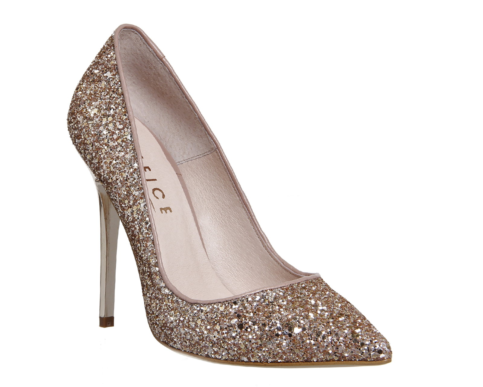 Gold Glitter Shoes Uk