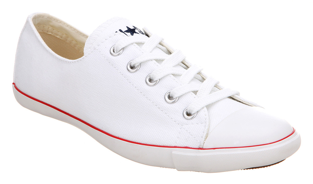 Womens Converse Ct Lite Ox Optical White Trainers Shoes | eBay