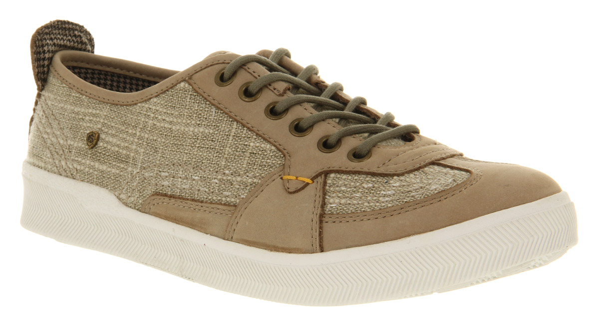 Mens-Feud-Stealth-Low-Sneaker-Grey-Leather-Casual-Shoes